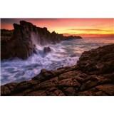 Vliesové fototapety mořské útesy rozměr 368 cm x 254 cm