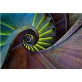Fototapety točité schodiště rozměr 368 cm x 254 cm