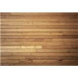Vliesové fototapety dřevěná zeď rozměr 368 cm cm x 254 cm