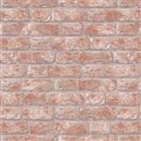 Vliesové tapety na zeď IMPOL cihla oranžovo-hnědá
