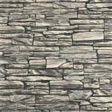 Vliesové tapety na zeď kamenná zeď šedá