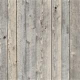 Vliesové tapety na zeď dřevěné obložení tmavě šedé