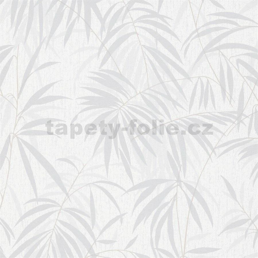 Tapeta Na Zeď Bílé šedá
