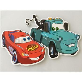 3D Pěnová dekorace na zeď Cars