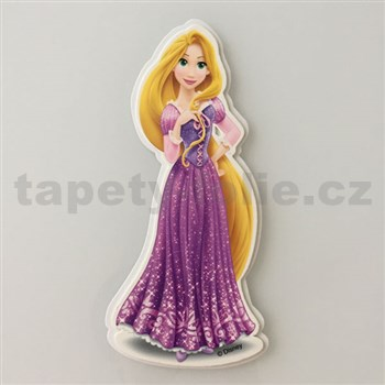 3D dekorace na zeď princezna Rapunzel