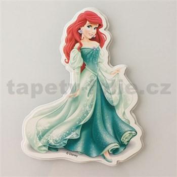 3D dekorace na zeď princezna Ariel