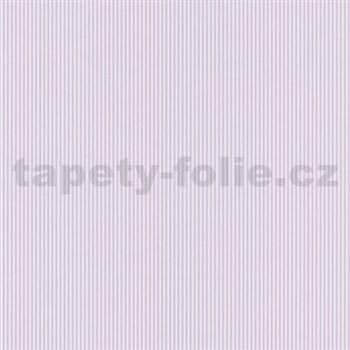 Papírové tapety na zeď Dieter Bohlen 4 Kidz proužky růžové