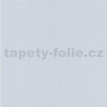 Papírové tapety na zeď Dieter Bohlen 4 Kidz proužky modré