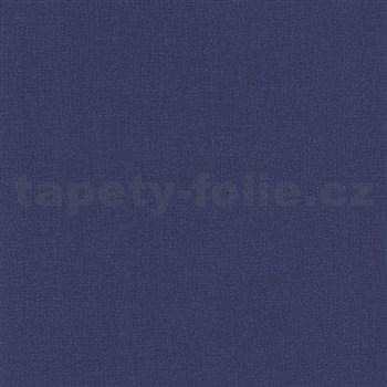 Papírové tapety na zeď Dieter Bohlen 4 Kidz jednobarevná tmavě modrá