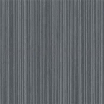 Vliesové tapety na zeď Bali jemné proužky šedé, černé, stříbrné