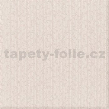 Luxusní vliesové tapety na zeď Brilliance zámecký vzor krémový