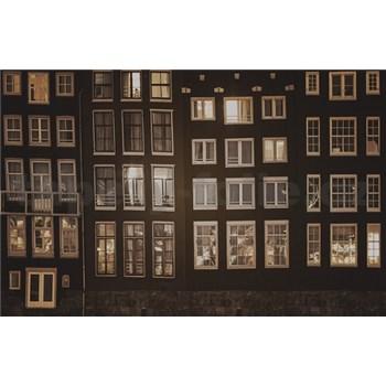 Luxusní vliesové fototapety Amsterdam - sépie, rozměr 418,5 cm x 270 cm