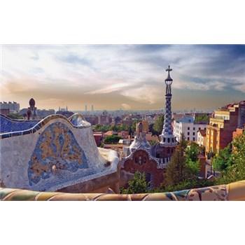 Luxusní vliesové fototapety Barcelona - barevné, rozměr 418,5 cm x 270 cm