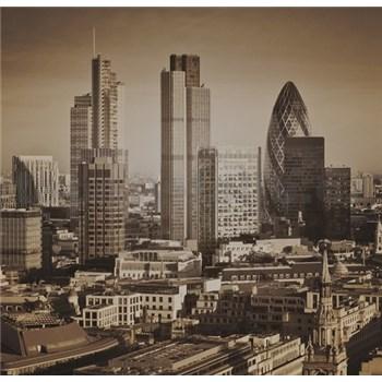 Luxusní vliesové fototapety Londýn - sépie, rozměr 279 cm x 270 cm