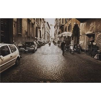 Luxusní vliesové fototapety Řím - sépie, rozměr 418,5 cm x 270 cm