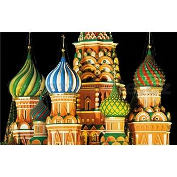 Luxusní vliesové fototapety Moskva - barevné, rozměr 418,5 cm x 270 cm
