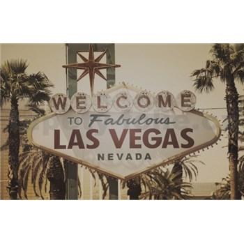 Luxusní vliesové fototapety Las Vegas - sépie, rozměr 418,5 cm x 270 cm