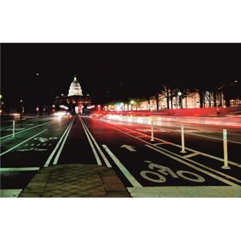 Luxusní vliesové fototapety Washington dc - barevné, rozměr 418,5 cm x 270 cm