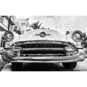 Luxusní vliesové fototapety Miami - černobílé, rozměr 418,5 cm x 270 cm