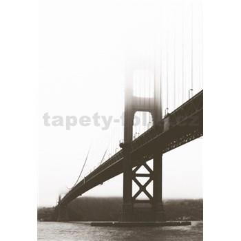 Luxusní vliesové fototapety San Francisco - barevné, rozměr 186 cm x 270 cm