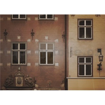 Luxusní vliesové fototapety Stockholm - sépie, rozměr 372 cm x 270 cm