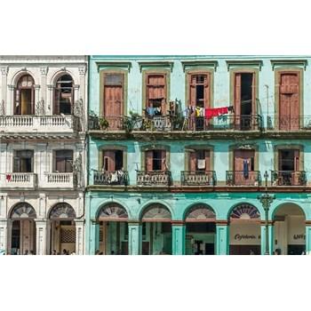 Luxusní vliesové fototapety Havana - barevné, rozměr 418,5 cm x 270 cm
