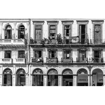Luxusní vliesové fototapety Havana - černobílé, rozměr 418,5 cm x 270 cm