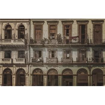 Luxusní vliesové fototapety Havana - sépie, rozměr 418,5 cm x 270 cm
