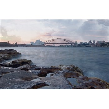 Luxusní vliesové fototapety Sydney - barevné, rozměr 418,5 cm x 270 cm