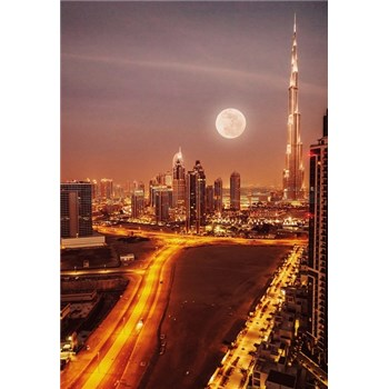 Luxusní vliesové fototapety Dubai - barevné, rozměr 186 cm x 270 cm