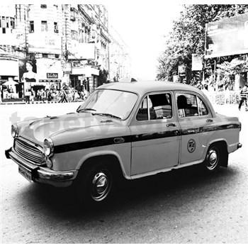 Luxusní vliesové fototapety Delhi - černobílé, rozměr 279 cm x 270 cm