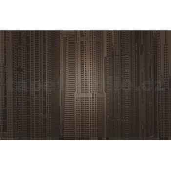 Luxusní vliesové fototapety Dubai - sépie, rozměr 418,5 cm x 270 cm