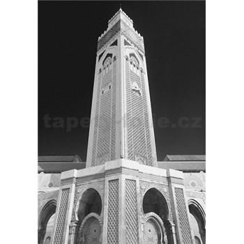 Luxusní vliesové fototapety Casablanca - černobílé, rozměr 186 cm x 270 cm