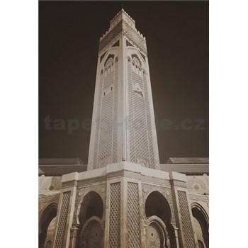 Luxusní vliesové fototapety Casablanca - sépie, rozměr 186 cm x 270 cm