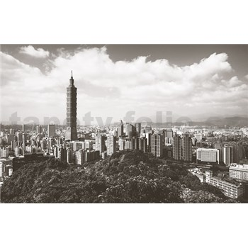 Luxusní vliesové fototapety Taipei - barevné, rozměr 418,5 cm x 270 cm