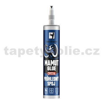 Lepidlo MAMUT GLUE CRYSTAL 290ml transparentní