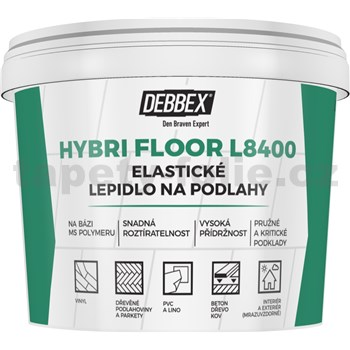 Elastické lepidlo na podlahy HYBRI FLOOR L8400, 5kg
