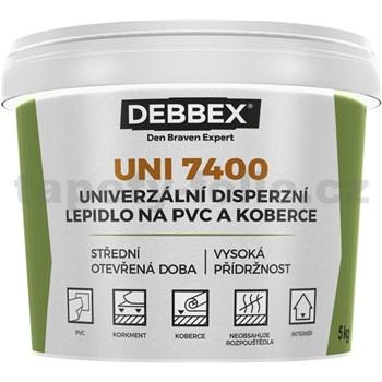 Univerzální disperzní lepidlo na PVC a koberce UNI 7400, 1kg