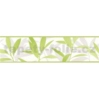 Bordura Dieter Bohlen - listí zelené 13,3 cm x 5 m