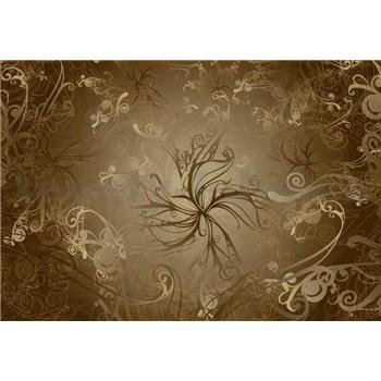 Vliesové fototapety Gold rozměr 368 cm x 254 cm