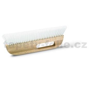 Stírací kartáč na tapety, tvrdší, vyšší štětina, 35 x 5 cm