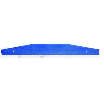 Lišta na ořezání tapet, nerez, šířka 58 cm