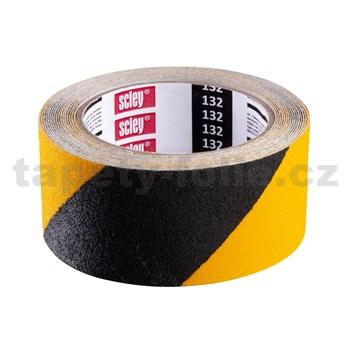 Protiskluzová páska Scley 25mm x 5m černo-žlutá