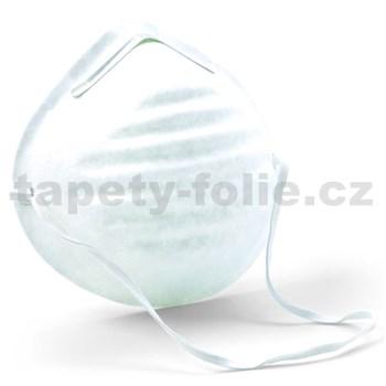 Jednorázová hygienická maska zabraňující přenosu z úst