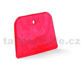 Špachtle plastová, měkká, 12 x 7 cm