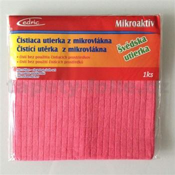 Švédská utěrka z mikrovlákna 40 x 40 cm