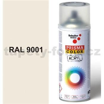 Sprej krémový lesklý 400ml, odstín RAL 9001 barva krémová lesklá