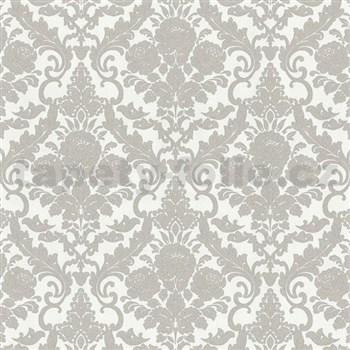Vliesové tapety na zeď Hypnose zámecký vzor šedý