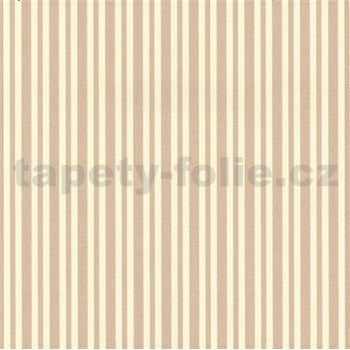 Vliesové tapety na zeď Hypnose pruhy světle hnědé