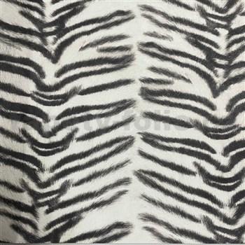 Vliesové tapety na zeď IMPOL Kaleidoscope zebra černo-bílá